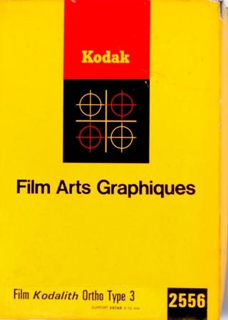 Kodak Kodalith Ortho Type 3
