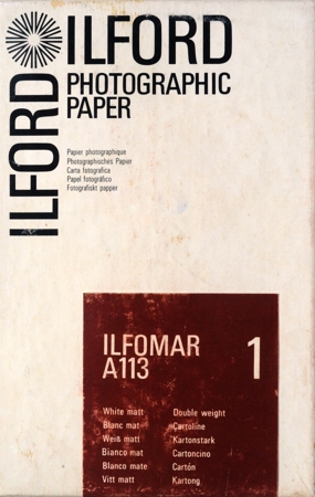 Ilford Ilfomar A113 1