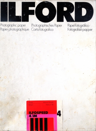 Ilford Ilfospeed 4.1M 4