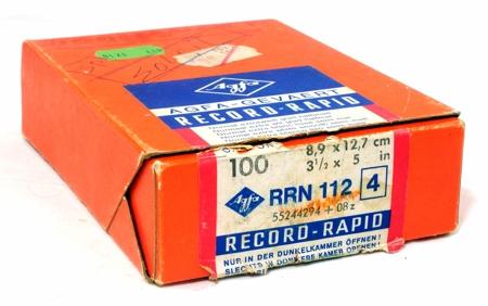 Agfa Papier Record - Rapid RRN 112 4