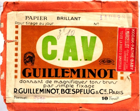 Guilleminot Pochette de 10 feuilles 9x12 cm de papier brillant