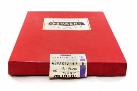 Gevaert Boîte de 100 feuilles de papier Gevarto 18x24 cm