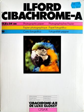 Ilford Cibachrome-A II De Luxe Glossy