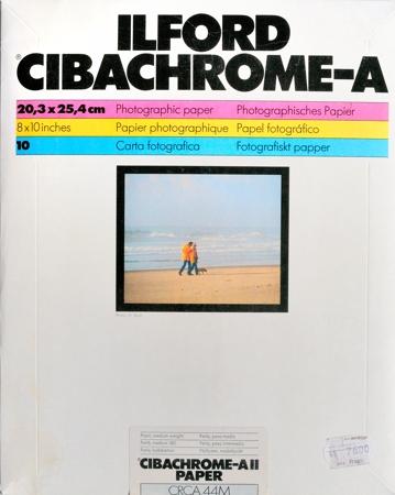 Ilford Cibachrome-A, pochette de 10 feuilles 20,3 x 25,4