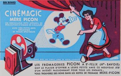 Cinémagic Buvard Cinémagic de la Mère Picon