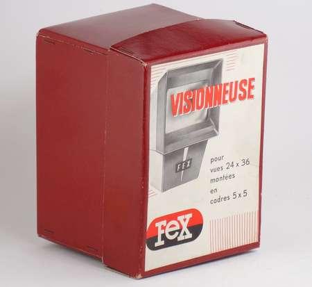 Fex Indo Boîte pour visonneuse diapositives