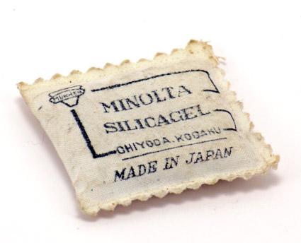 Minolta Silicagel