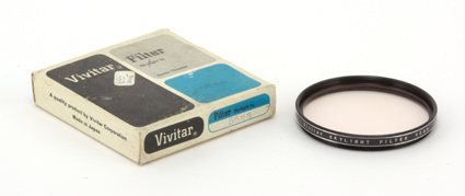 Vivitar Filtre Skylight 1A 55 mm
