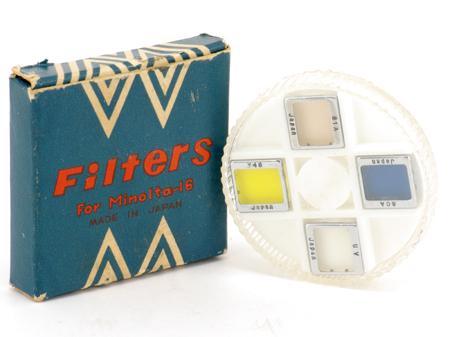 Minolta Jeu de filtres Minolta 16