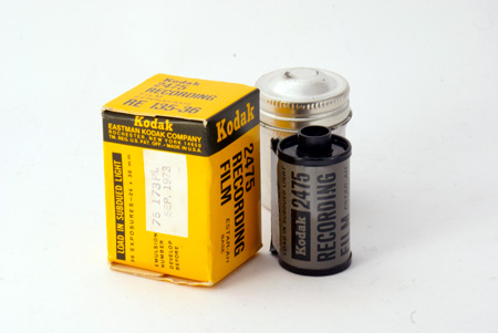 Kodak 2475 Recording Film Estar - AH Base