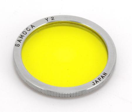 Samoca Filtre jaune Y2 Ø34 mm