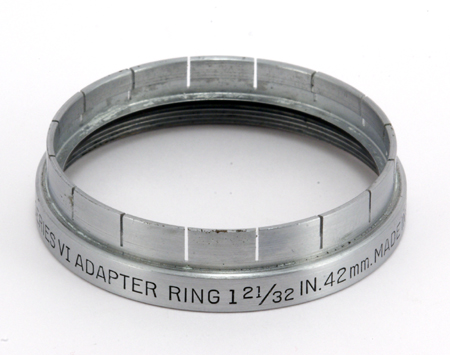 Kodak Adapter Ring series VI 1 21/32 inch 42 mm