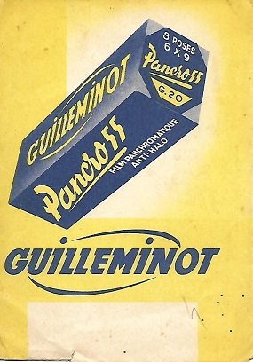 Guilleminot Pochette retour de laboratoire.