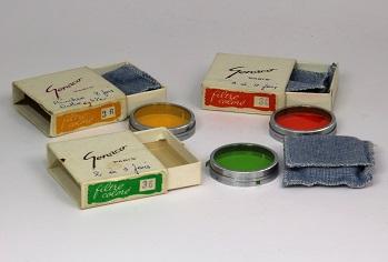 Genaco Filtres colorés 36 mm.