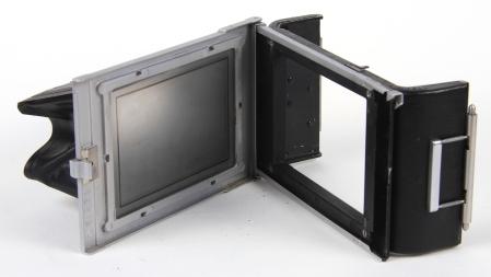 Kodak Dos amovible pour plan film et visée sur dépoli