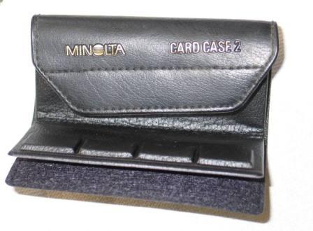Minolta Etui pour cartes Dynax