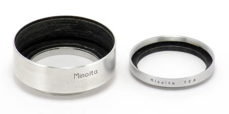 Minolta Pare-soleil 40,5 mm pour Super Rokkor 2,8 / 5 cm L