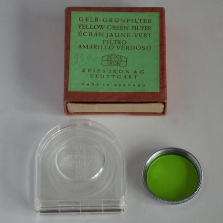 Zeiss Ikon Ecran jaune-vert