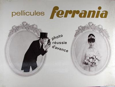 Ferrania Panneau publicitaire