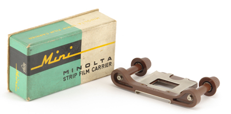 Minolta Strip Film Carrier