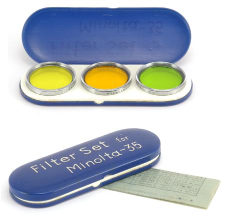 Minolta Filter Set for Minolta-35