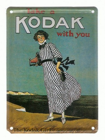Kodak Plaquette émaillée