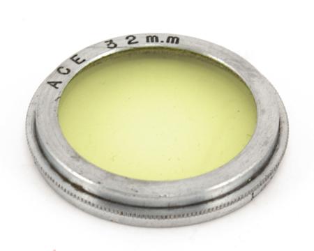 Ace Filtre Jaune Ø 32mm coiffant