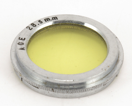 Ace Filtre jaune Ø 28,5mm coiffant