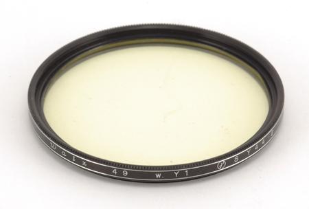 Walz Filtre jaune Ø 49mm W.Y1 SY 44.2
