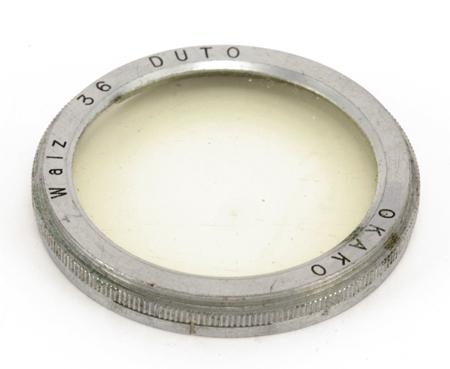 Walz Filtre à anneaux concentriques DUTO OKAKO Ø 36mm