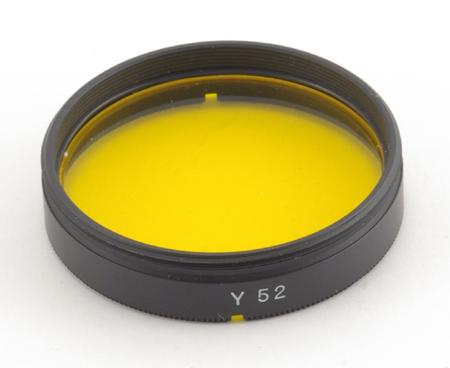 Minolta Filtre jaune Y52 pour objectifs Minolta catadioptr
