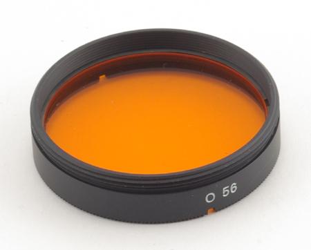 Minolta Filtre orange O56 pour objectifs catadioptriques