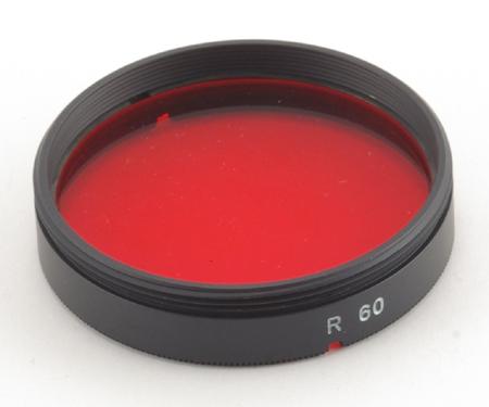 Minolta Filtre rouge R60 pour objectifs catadioptriques