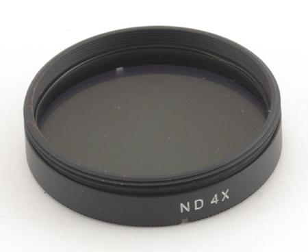 Minolta Filtre gris neutre ND4x pour objectifs catadioptri