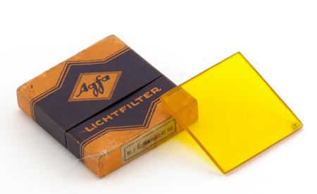 Agfa Filtre jaune n° 5 45 x 45 mm
