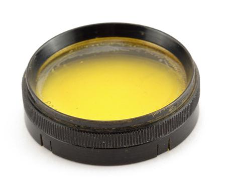 Optochrom Filtre jaune  32 mm coiffant