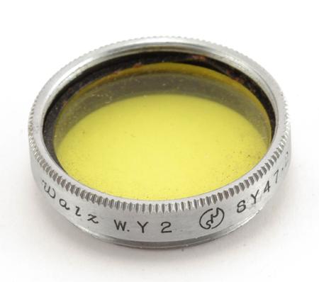 Walz Filtre jaune W.Y2 SY47.2 Ø 19mm