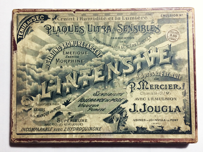 Lumière & Jougla Boite de 12 plaques 13 x 18 l'Intensive