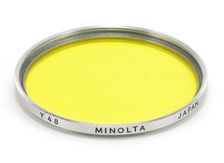 Minolta Filtre jaune Y48 Ø 55 mm