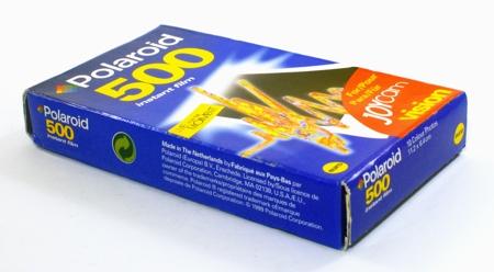 Polaroid Instant Film 500