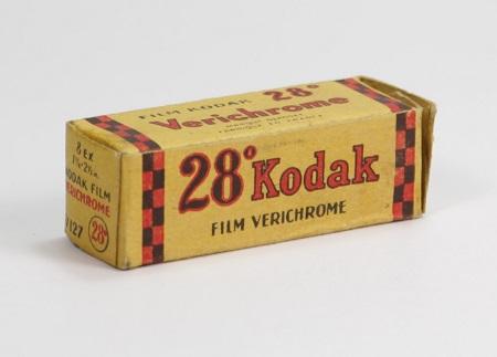 Kodak 28° Kodak Film Vérichrome