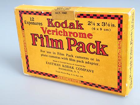 Kodak Verichrome Film Pack