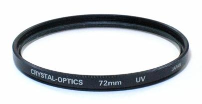 Crystal-Optics Filtre UV 72 mm