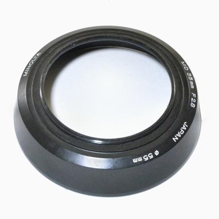 Minolta Pare-Soleil 55 mm pour 2,8 / 35 mm
