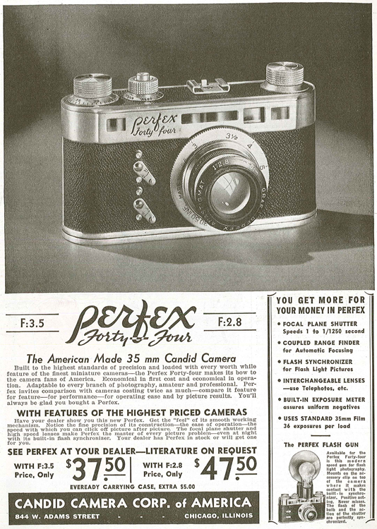 Camera Corp of America Perfex Forty Four