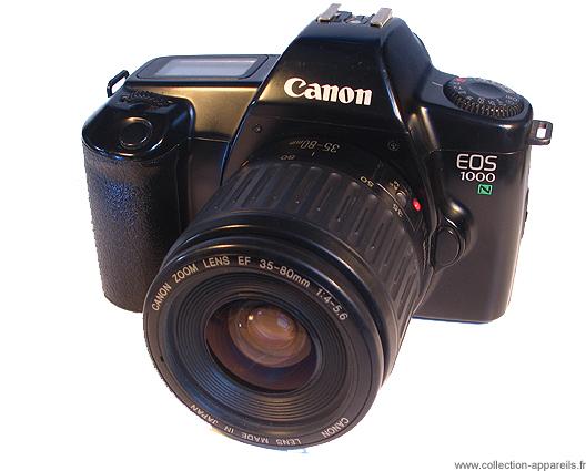 04efa5a7fb117 Canon EOS 1000 N Collection appareils photo anciens par Sylvain Halgand