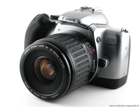 canon eos 3000v vintage cameras collection by sylvain halgand rh collection appareils fr canon 3000v manual Canon EOS M