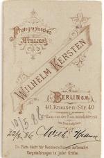 Kersten, Wilhelm