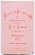 Asher, Alex