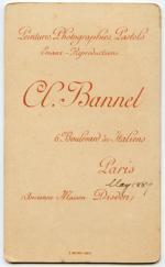 Bannel, A. (ancienne maison Disderi)